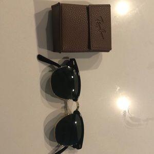Ray-Ban foldable sunglasses polarized